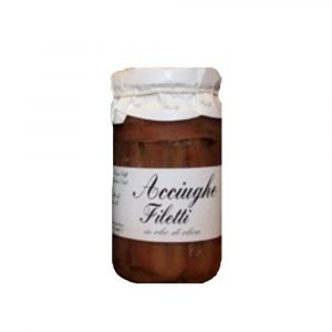 Vino Migliore CONSERVE PIEMONTESI Acciughe in Olio Extra 200 Grammi Riolfi