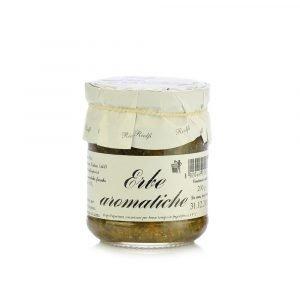 Vino Migliore CONSERVE PIEMONTESI Sette Sapori (Misto di Erbe Aromatiche e Sale) 200 Grammi Riolfi