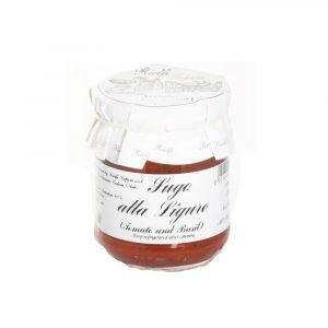 Vino Migliore CONSERVE PIEMONTESI Sugo alla Ligure (pomodoro e Basilico) 180 Grammi Riolfi