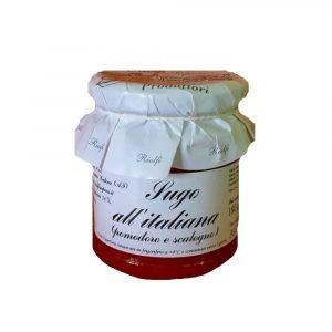 Vino Migliore CONSERVE PIEMONTESI Sugo all'Italiana (Pomodoro e scalogno) 180 Grammi Riolfi