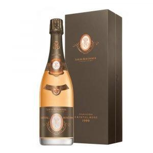 "Vino Migliore CHAMPAGNE Champagne Cristal Rosé ""Vinotheque"" 1999 Louis Roederer"