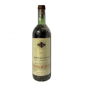 Vino Migliore BOTTIGLIE STORICHE Bordeaux Rouge 1977 Dourthe Freres