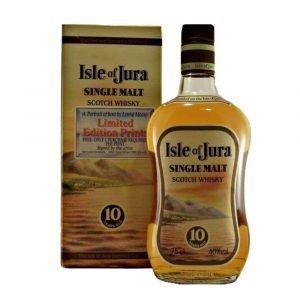 Vino Migliore BOTTIGLIE STORICHE Whisky Single Malt Scotch 10 Years Old Isle Of Jura Distillerie Moccia S.R.L.