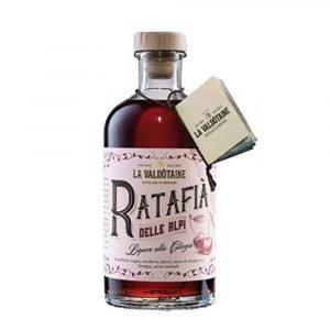 Vino Migliore LIQUORI Liquore alle Ciliegie Ratafia delle Alpi La Valdotaine