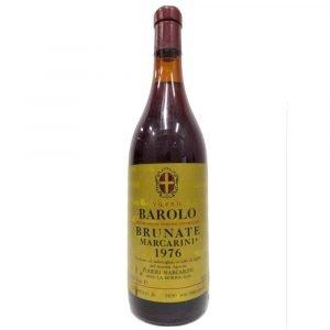 """Vino Migliore BOTTIGLIE STORICHE Barolo """"Brunate"""" 1976 Marcarini"""