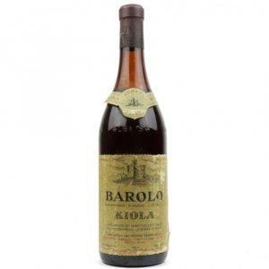 Vino Migliore BOTTIGLIE STORICHE Barolo 1969 Kiola