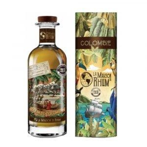 """Vino Migliore RHUM Rum """"Colombie"""" La Maison du Rhum"""