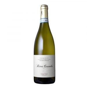 """Vino Migliore Cerutti Piemonte Chardonnay """"Riva Granda"""" 2017/2018 Cascina Cerutti"""