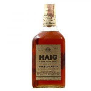 Vino Migliore BOTTIGLIE STORICHE Haig Blended Scotch Whisky John Haig & Co. Ltd. 2 Litri