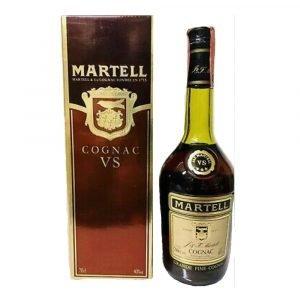 Vino Migliore BOTTIGLIE STORICHE Cognac VS Etichetta Storica Astucciato J&F. Martell